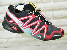 SALOMON SPEEDCROSS 3 Womens Trail Running Shoes Trainers Blue Size 6.5 UK 40 EU