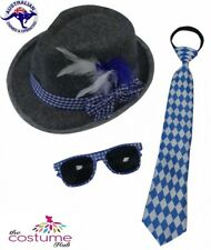 Oktoberfest kit/set Glasses Tie & Hat Mens Costume