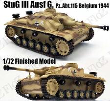 Stug III Ausf. G Abt.115 Belgium 1944 1:72 assault gun tank easy model finished