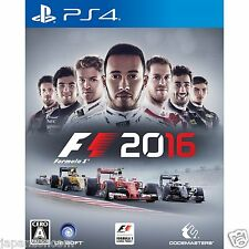 F1 2016 SONY PS4 PLAYSTATION 4 JAPANESE NEW JAPANZON