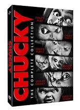 CHUCKY COMPLETE COLLECTION CHILD'S PLAY 1 2 3 4 5 6 DVD SET Horror Film Lot Doll