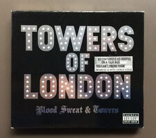 TOWERS OF LONDON - Blood Sweat & Towers CD VG 2006 Enhanced 15 Tracks Glam Rock