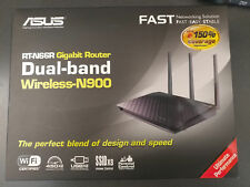 ASUS RT-N66R Dual Band N900 Gigabit Home Router 2.4Ghz/5Ghz