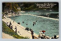 Chester WV-West Virginia, Rock Springs Swimming Pool, East Liverpool Postcard