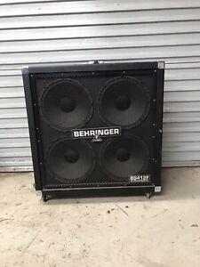 400 Watt Behringer BG412F 4x12 Cab