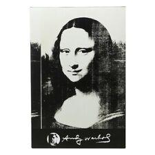 Medicom Be@Rbrick Andy Warhol Double Mona Lisa 100% 400% Bearbrick Figure Set