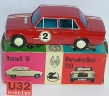 VERCOR 419C SEAT 124 #2 ROJO CARROCERIA Y CHASIS DE LATA AÑOS '60 EXC.CONDICION