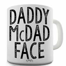 Twisted Envy Daddy McDad Face Ceramic Funny Mug