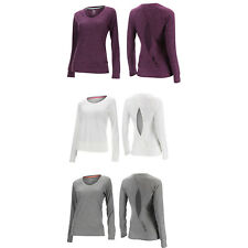 2XU Womens Dry-X Studio Long Sleeve Top Exercise Yoga Pilates Work Out Running