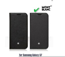 Montblanc Flipside Mobile Cover Case Leather [ Soft Grain] for Samsung Galaxy S7