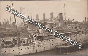 PPC The Docks Southampton Hampshire 1934
