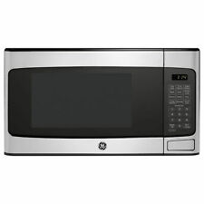 Ge 1.1 Cu Ft Countertop Stainless Steel Microwave Oven (Refurbished) (Open Box)