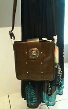 Fabulous Age Large Crossbody Bag in Coffee Color NWT
