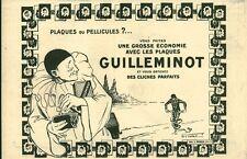 Publicité ancienne photo plaques ou pellicules GUILLEMINOT 1925 VIRTEL
