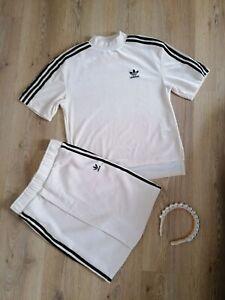 Adidas Cream Velvet Set