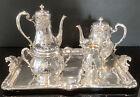 Superb Antique / Vintage Christofle Silver Plated 5 Piece Tea Set Circa 1935