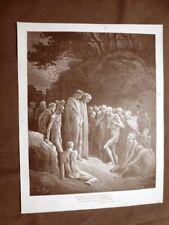Incisione di Gustave Dorè del 1890 Buonagiunta degli Urbiciani Divina Commedia
