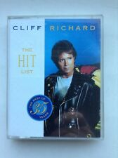 "CLIFF RICHARD ""THE HIT LIST""  BEST OF 35 YEARS "" 2 X CASSETTE TAPE SET"