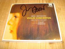 Isabelle Faust Montagne & Beethoven Violinkonzerte Harmonia Mundi CD signed signé