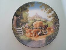 HARVEST TIME Plate By Robert Hersey Coalport China The Tale of a Country Village