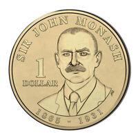 Australia 2018 Lieutenant General Sir John Monash $1 Dollar UNC Coin Carded