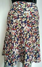 JIGSAW floral midi skirt size 14 --MINT--used once knee length