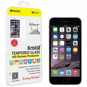 AMER KRISTAL TEMPERED GLASS HD SCREEN PROTECTOR FOR IPHONE 7 6 6S 6+ 6s+ 5 5S