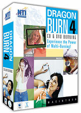 NTI Dragon Burn 4.5, CD and DVD Multi-burn Solution for Mac