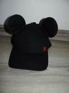 Girls/ Boys Mickey Mouse hat/ summer cap Minnie/ Mickey Ears hat size ONE Disney