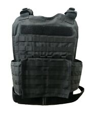Bullet Proof Vest plate Carrier With Plates Level IIIA 3A One Size Fits All