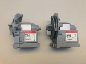 2 x LG Front Loader Washing Machine Water Drain Pump WD14030D (F1403FD.ABWREAP)