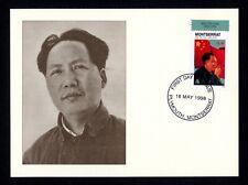 Montserrat 1037 Maximumkarte Mao Tse-tung / Mao Zedong