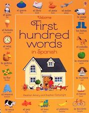 Usborne First Hundred Words in Spanish  (pb)  Heather Amery - learn Spanish NEW