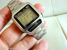 MONTRE WATCH OMEGA LCD SENSOR QUARTZ SEAMASTER 1640  VINTAGE 1980