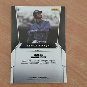 2018 Panini National Convention Gold VIP #48 Ken Griffey Jr.