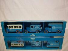 KLM OLTIMER SET No 1 - PASSENGER + ANIMAL TRANSPORT + CARGO - NEAR MINT IN BOX