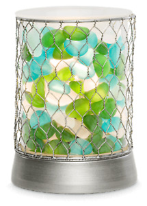 Authentic Scentsy Sea Stone Lamp Wax Warmer