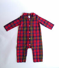 Flannel Babygrows & Playsuits (0-24 Months) for Boys