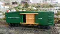 Bachmann HO Central Pacific Old Time Wild West Wood Boxcar, Exc.,