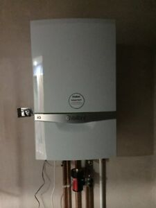 Vaillant EcoTec Exclusive Green IQ 843 Combi boiler+ flue & V-Smart controller