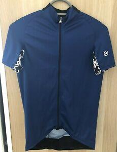 Assos Mille GT Short Sleeve Jersey Blue Medium