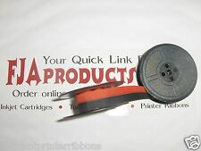 Vintage Manual Royal Typewriter Spool Ribbon Black/Red
