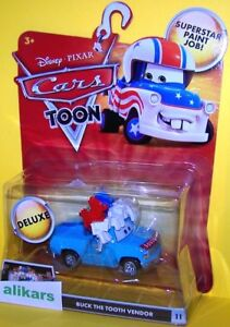 T - BUCK THE TOOTH VENDOR #11 Disney Pixar Cars Toons Mater's Tall Tales Toon