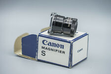 ORIGINAL CANON MAGNIFIER S WITH ADAPTER S WITH ORIGINAL BOX