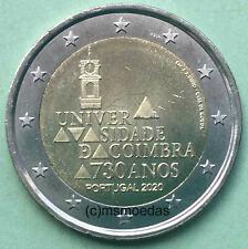 Portugal 2 Euro 2020 Coimbra Gedenkmünze Euromünze commemorative coin