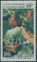 French Polynesia 1958 Sc#C26,SG15 100f White Horse MNH