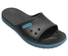 Da Uomo Crocs Swiftwater Deck Intasa Bianco Blu Scuro Tg UK