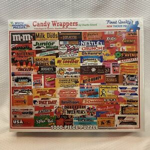 Candy Wrappers 1000 Piece Jigsaw Puzzle White Mountain - New by Charlie Girard
