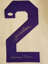 Y.A. Tittle (d) Geux Tigers Signed Authentic LSU Jersey Number - JSA (W) COA