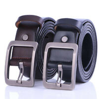 Vogue Men Leather Belt Casual Pin Buckle Waist Waistband Belts Strap Adjustable